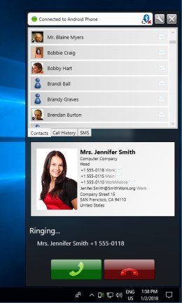 CallCenter - Incoming call